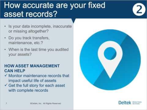 CCG - Deltek Vision Asset Management