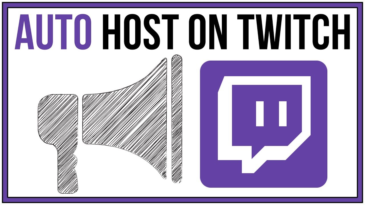 How To Auto Host A Channel On Twitch - Full Tutorial