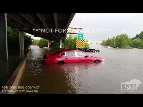 08-27-2017 Houston, Texas Tropical Storm Harvey Significant Flooding