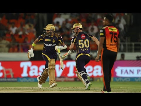 IPL 2018: KKR become the third team to qualify for the playoffs, beat SRH by 5 wickets. Gaurav Ka...