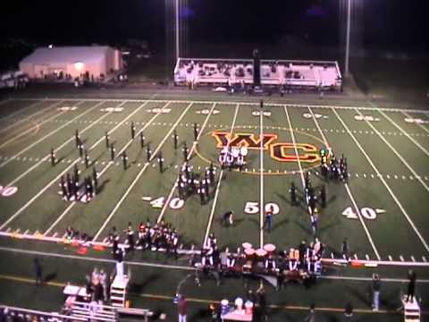 WCHS Marching Band Woodford County 10122012