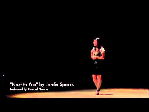 Next to You - Jordin Sparks (Cover by Clairbel)