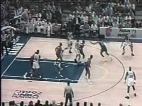 NBA - 1991/1992 season highlights [Knicks] 3/5 - polish commentary