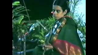 Mandolin U Srinivas at age 20- Bangalore private concert video clip