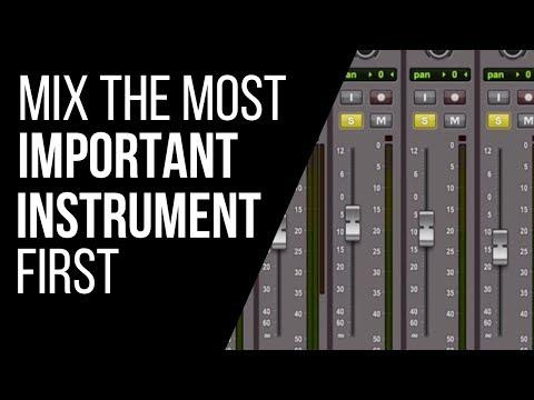 Mix the Most Important Instrument First - RecordingRevolution.com