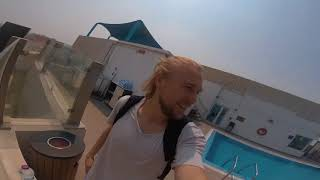 Parkour Pro Shaun Wood Travels to Doha to visit BOUNCE!