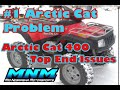 1 of 2 Arctic Cat 400 Auto 4x4 Motor Rebuilt Disassemble Case Split Engine Tear Down Head Valve