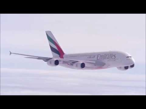 Emirates Airlines Airbus A380 delivery history