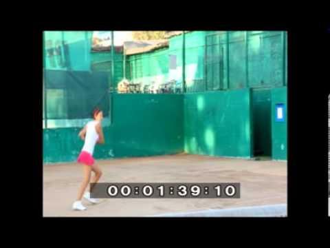 Darya Berezhnaya Kazakhstan tennis player