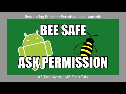 How to Request Runtime Permissions in Android 6.0+ | PermissionsDispatcher Plugin Tutorial