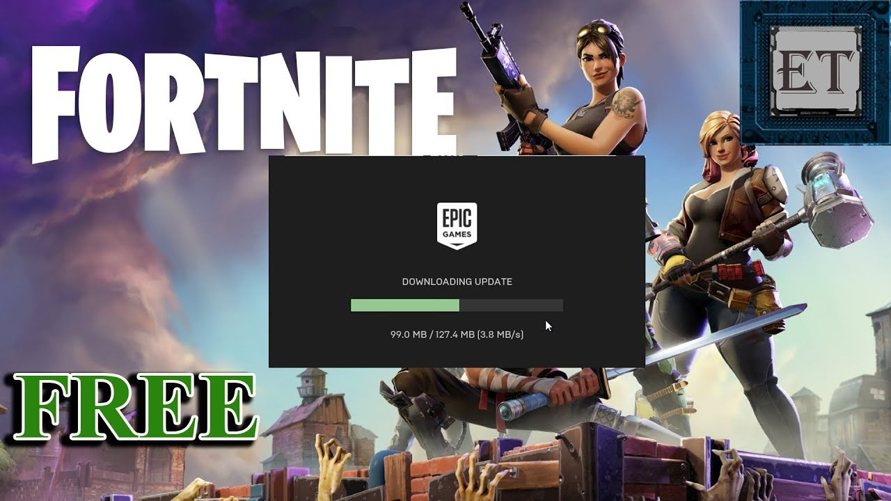 download fortnite for free on pc