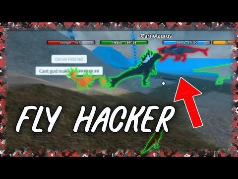 MEGA FLY HACKING I Dinosaur Simulator #9 (Re-upload)