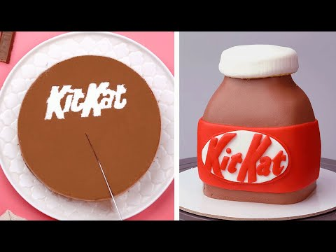 So Yummy KITKAT Chocolate Cake Hacks | Easy And Tasty Cake Decorating Ideas | The Most Cakes Recipes