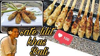 Download lagu RESEP SATE LILIT AYAM KHAS BALI | balinese satay lilit recipe