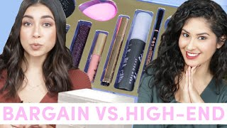 Bargain vs. High-End Holiday Make Up Kits With Jeanine Amapola