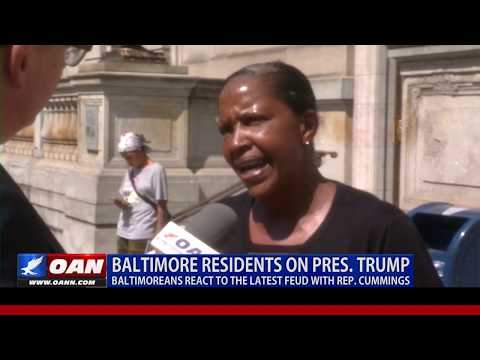 President Trump vs. Rep. Cummings: Baltimoreans react to the latest feud