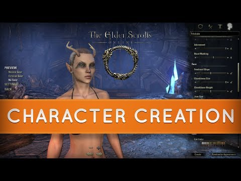 The Elder Scrolls Online : An In-depth Look at Character Creation