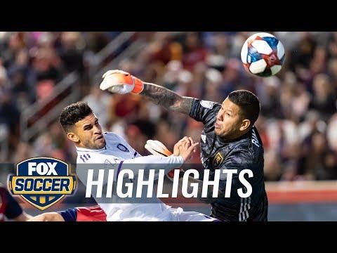 Real Salt Lake vs. Orlando City SC   2019 MLS Highlights
