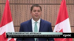 Conservative Leader Andrew Scheer on federal response to COVID-19 – March 24, 2020
