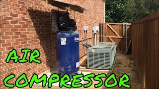 How to move air compressor outside - Installing automatic drain valve - turbocobra