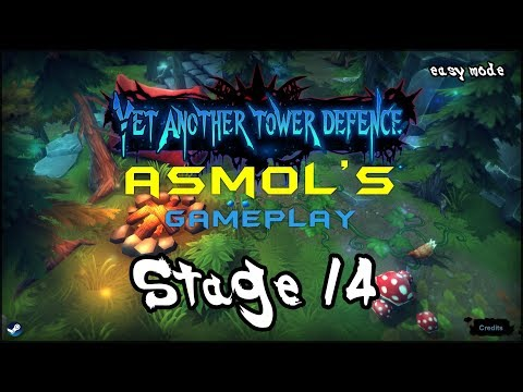 Yet Another Tower Defence - Asmol's Gameplay - Stage 14