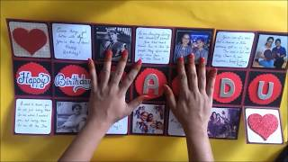 Beautiful Explosion Box idea for Birthday   DIY EXPLOSION box   tutorial