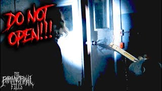 scary door found in basement of rental home [NEVER OPEN!] (Paranormal Evidence Vlog 2018 HD)
