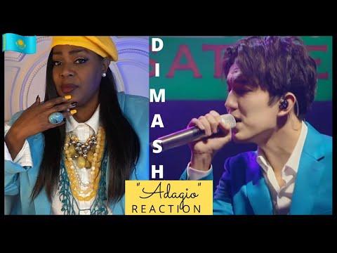 DIMASH } ADAGIO | REACTION VIDEO