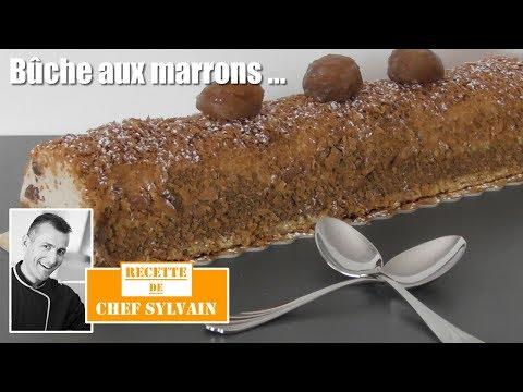 bûche-aux-marrons---bûche-de-noël-par-chef-sylvain
