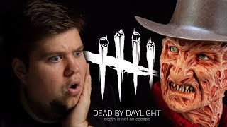 БРЕЙН ИГРАЕТ ЗА ФРЕДДИ КРЮГЕРА! - Dead By Daylight