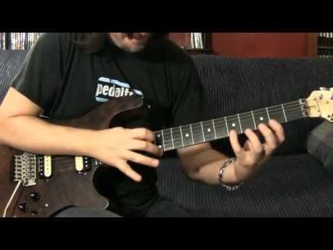 parts of Nuno Bettencourts intro to Mutha - guitar lesson