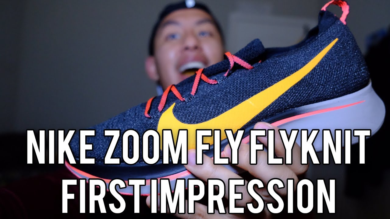 a98ebc5fc342 Nike Zoom Fly Flyknit 7 Mile First Impression - YouTube