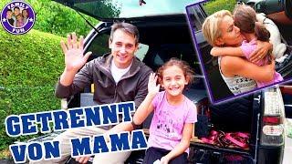 GETRENNT VON MAMA AM ERSTEN FERIENTAG   Vlog #107 Our life FAMILY FUN