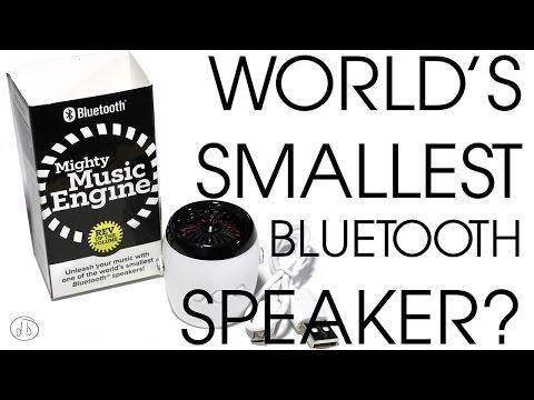 Mighty Music Engine... World's Smallest Bluetooth Speaker?
