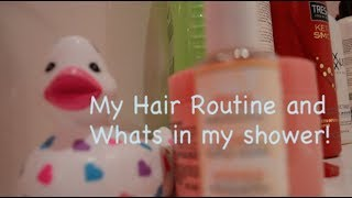 My Daily Hair Routine + Whats In My Shower Thumbnail