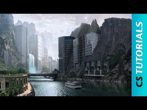 Strange city - Photo Manipulation Tutorial ( #Photoshop ) | CreativeStation