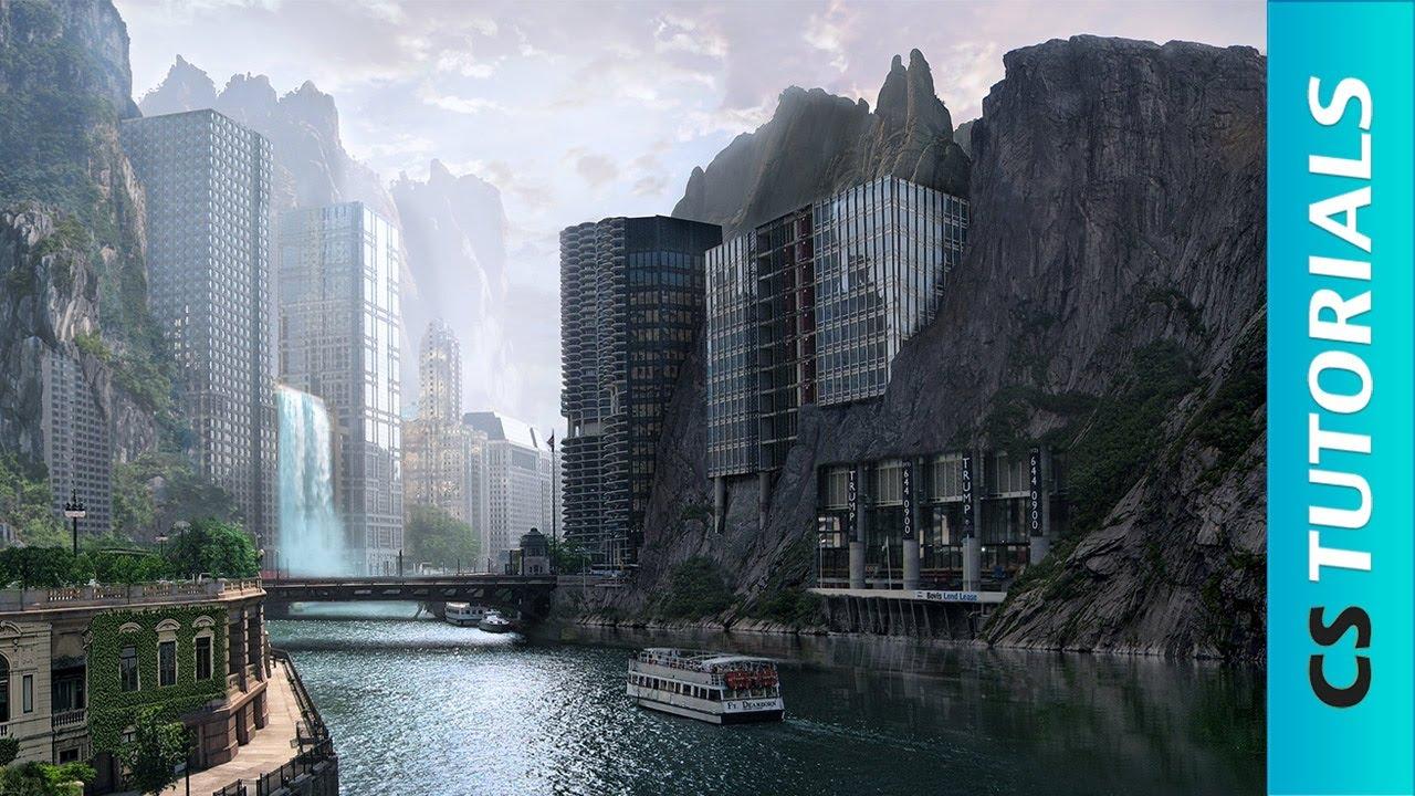 Strange city - Photo Manipulation Tutorial ( #Photoshop ) | CreativeStation - YouTube