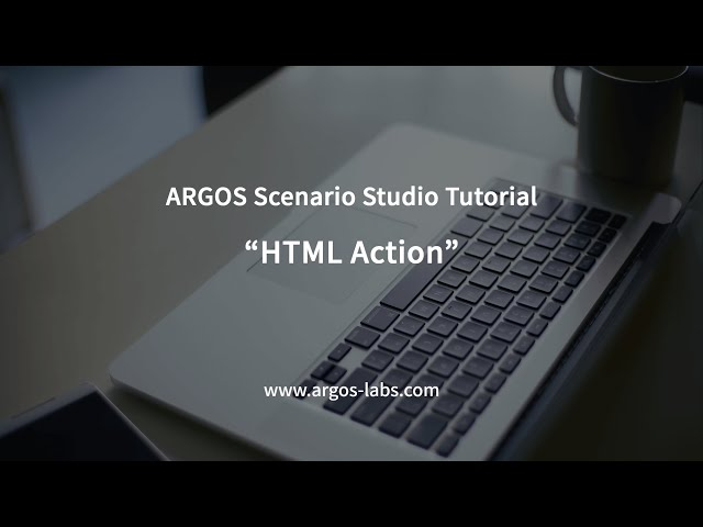 HTML Action