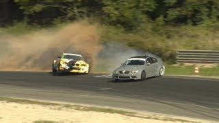 BMW E46 drift crash in Nemuno žiedas (Benediktas Čirba)