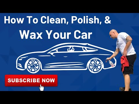 how to clean polish and wax your car youtube. Black Bedroom Furniture Sets. Home Design Ideas