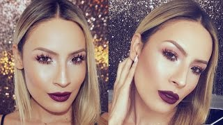 Easy Warm toned Smokey Eye Makeup Tutorial - Desi Perkins