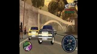 видео ВАЗ 2107 для GTA San Andreas