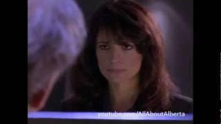 Madeline (Alberta Watson) White Room scene. 'Gambit' / La Femme Nikita, 1997