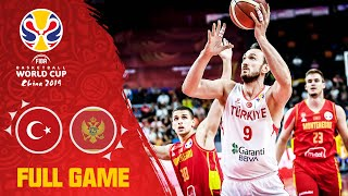 Turkey edge out Montenegro in a classic! - Full Game - FIBA Basketball World Cup 2019
