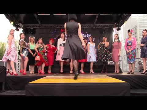 Miss Pin Up 2019,uscita finale e premiazione miss pin up -Treviso tattoo  convention 2019
