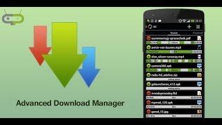 telefona video indirme programı advanced download manager adm