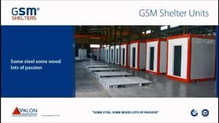 OPALON الجاهزة الحاويات الصلب الملاجئ هيكل GSM