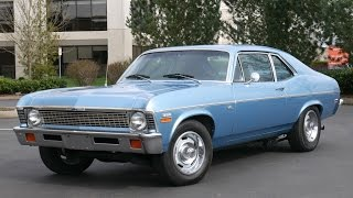 1972 Chevy Nova Test Drive - full Sound and Walkaround