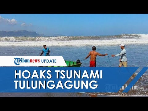Warga Tulungagung Lari Ketakutan seusai Dengar Teriakan 'Tsunami', Diduga Termakan Isu Megathrust