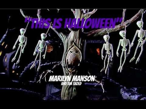 this is halloween marilyn manson - Marilyn Manson This Is Halloween Album